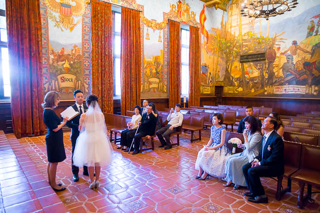 Santa barbara courthouse elopement tiffany james for Mural room santa barbara courthouse