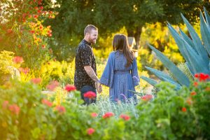 Candid photos of the bride and groom at Ojai Meditation Mount.