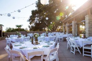 Wedding reception at the Glen Annie Golf Club in Santa Barbara, CA.