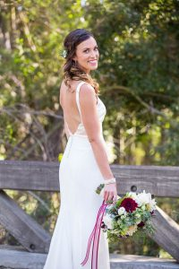 Bridal portraits at Glen Annie Golf Club.