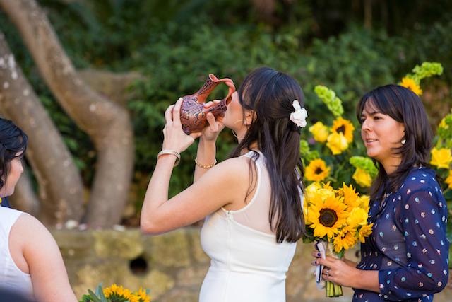 Native American Wedding.Native American Wedding Vase Karen D Photography 4