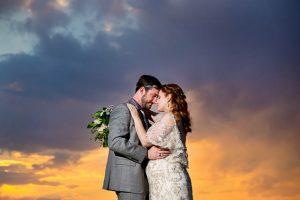 Amazing bride and groom sunset photos in Boulder, Colorado.