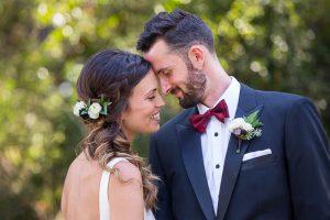 Bride and groom portraits at Glen Annie Golf Club wedding.