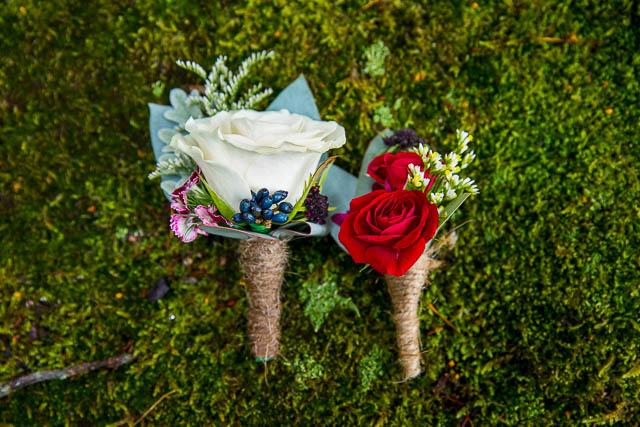 Wedding details during the Rotorua, New Zealand wedding.
