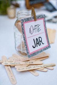 Wedding details at The Ranch House Ojai wildflower themed wedding.