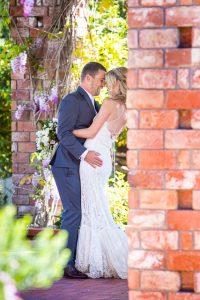 Couple's first look at their Belmond El Encanto wedding.