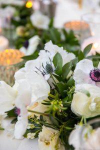 Wedding reception details at the Belmond El Encanto Wedding in Santa Barbara, California.
