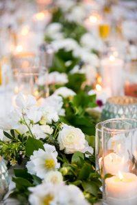 Wedding reception at the Oak Tree Suite at the Belmond El Encanto Hotel in Santa Barbara, California.