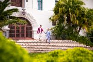 Santa Barbara Courthouse Covid elopement.