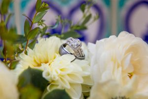Wedding bouquet for Santa Barbara Courthouse elopement.